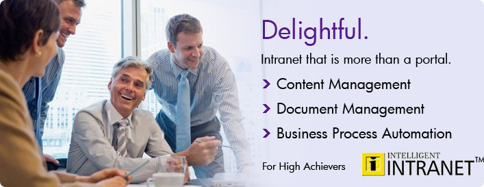 Intelligent Intranet software